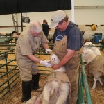 Dr. Ted Semple and Bruce on Vet Check classic2012