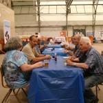 cathy gallivan (NB) Gordon Walker, Barry and Don Grant (Ontario) shepherds social 2012