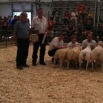 2011 Provincial Exhibition: Champion Flock